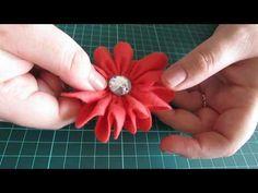 Video Aula 3 - Como fazer rosas e letras em Feltro com o ponto alinhavo.