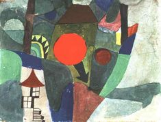With the Setting Sun - Paul Klee