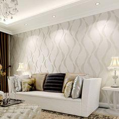 behang woonkamer wit - Google zoeken | Homes | Pinterest | Showroom