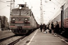 Train- Russia -Did over night travel from St Petersburg ( Then Leningrad ) to Moscow