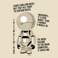 Check out this awesome 'Marvin+%3A+the+pessimist+robot' design on TeePublic! http://bit.ly/1qAXVZJ