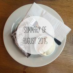 summary of August 2015