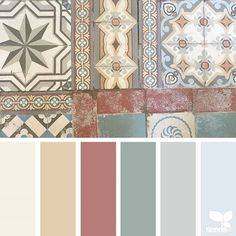 today's inspiration image for { tiled tones } is by @piensaar ... thank you, Nicolette, for another awesome #SeedsColor image share!