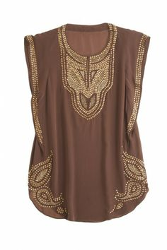 MILA TOP~ Can you imagine how amazing this would look with some black leggings & heels.