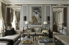 Luxury Living Room Ideas For LA Homes  READ MORE at http://losangeleshomes.eu/home-in-la/how-to-decorate-a-luxury-dining-room/  #LosAngelesHomes #LuxuryHomes #LuxuryLivingRoom