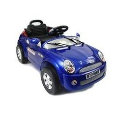 Mini Cooper-Style Electric Ride On Car for Kids with R/C Remote Controller