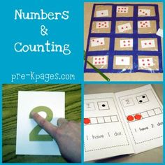 Fun counting games for kindergarten!