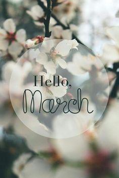 März March Mars  Der schönste Monat im Jahr!