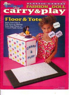 Fashion Doll Carry & Play Floor & Tote 1
