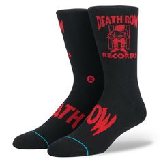 92325e38a Stance Death Row Anthem Casual Crew Socks Size Large 9-12  fashion  clothing