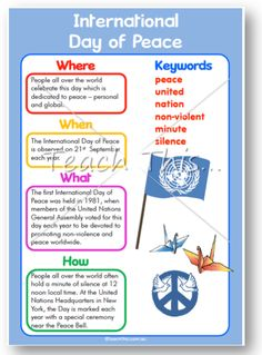 This poster was created to support the Year 3 History Curriculum. People all over the world celebrate this day which is dedicated to peace - personal and global. Around The World Theme, Kids Around The World, Diversity In The Classroom, Religion Activities, International Day Of Peace, Celebration Day, Classroom Games, Early Education, Grade 2