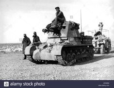 "German Tank Destroyer ""Marder I"" Stock Photo North African Campaign, Afrika Korps, Tank Destroyer, Ww2 Tanks, World Of Tanks, Military Equipment, War Machine, Military Vehicles, World War"