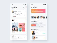Social Networking App designed by Reza Shintia Dewi. Connect with them on Dribbble; Web Design, Ios App Design, Interface Design, Design Art, Graphic Design, Interior Design, Mobile Application Design, Mobile Ui Design, App Design Inspiration