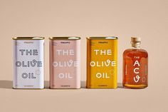 Introducing Pineapple Collaboratives new line of pantry staples made by women and inspired by YOU With The Olive. Olive Oil Packaging, Food Packaging Design, Pretty Packaging, Beauty Packaging, Packaging Design Inspiration, Brand Packaging, Spices Packaging, Brand Inspiration, Food Branding