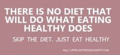 We forget that the true purpose of eating is to nourish our bodies so it can function properly ( if it tastes good, thats an extra plus!) By not eating well we are letting our bodies struggle and they have to overcompensate for what we don't give them. So just eat healthy!!