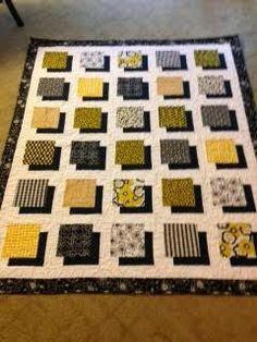 Shadow block quilt