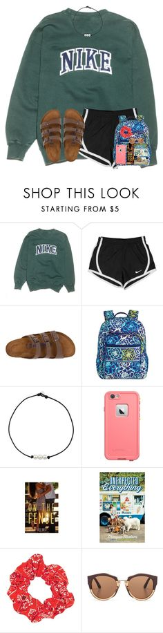 """day 1: driving"" by ponyboysgirlfriend ❤ liked on Polyvore featuring NIKE, Birkenstock, Vera Bradley, LifeProof, Topshop, Marni, julesday1 and julesroadtrip"