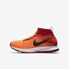 f5de520a7e2895 Nike Air Zoom Pegasus All Out Flyknit Big Kids  Running Shoe Size (Orange)  - Clearance Sale