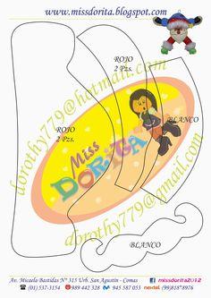 Moldes, Videos Tutoriales y Revistas Gratis de Foami, Goma Eva y microporoso, Compartir es nuestro lema y vayamos por la vida haciendo el Bien Paper Piecing, Tweety, Pikachu, Christmas, Fictional Characters, Loki, Diana, Vintage, Summer Activities