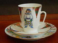 Ensemble de porcelaine russe Lomonossov impériale thé par ruefedor