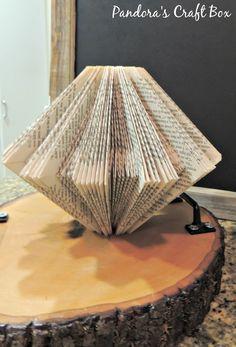 Book Folding Pattern - Pandora's Craft Box