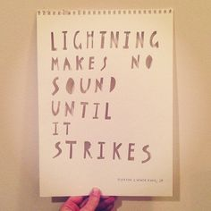 what lightening does