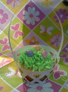 BFF Kandi's precious Easter basket cupcakes!