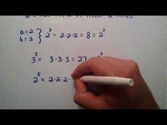 Exponents  Part 1 , Intermediate Algebra , Lesson 8