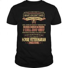 HORSE-VETERINARIAN - #awesome t shirts #funny t shirts for women. ORDER NOW => https://www.sunfrog.com/LifeStyle/HORSE-VETERINARIAN-145023515-Black-Guys.html?60505