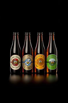 Brewboys Craft Beer Labels by de.co , via Behance