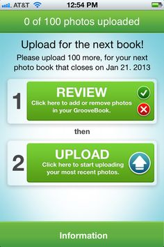 upload pictures from your phone and get a photo book for $2.99!
