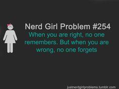 nerd girl problems   Nerd Girl Problems: Photo