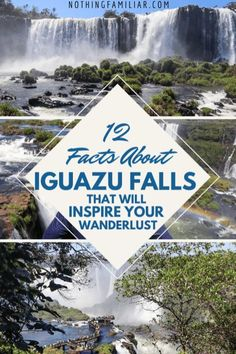 Iguazu Falls in South America is a place that combines natural beauty and pure magic! So when we planned our trip to Argentina it was an easy decision to jump on a plane and make the quick trip to Iguazu Falls from Buenos Aires. Travel with us as we navigate our way through the Iguazu Falls history, wild animals you'll find, and other interesting facts. #Iguazu #iguazufalls #IguazufallsArgentina #iguazufallsbrazil
