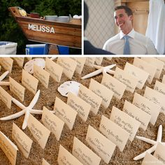 CeciStyle v148: Our Muse - Glamorous Beach Wedding - Be inspired by Melissa and Michaels glamorous beach wedding - wedding, invitations, place cards