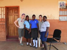 Volunteer Joanna Guernah and Brittney Brownin Zambia Lusaka volunteering at an orphanage and health care program, visiting Victoria Falls https://www.abroaderview.org #volunteerzambia #zambia #abroaderview #orphanage