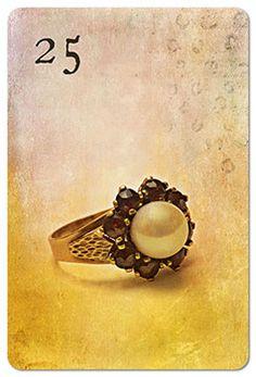Mondnacht Lenormand Karte 25: Ring