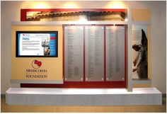 Signage Displays and Donor Recognition