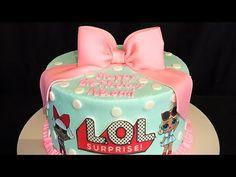 Doll Birthday Cake, Lol Doll Cake, Surprise Cake, Cake Youtube, Cake Gallery, Lol Dolls, Cute Cakes, Beautiful Cakes, Birthday Parties