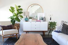 subtle bohemian decor ANYONE can try!   domino.com