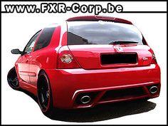 Kits carrosseries et accessoires Renault Clio 2 Tuning  à voir