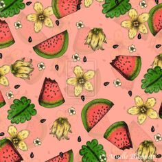 Watermelon Pattern 2014