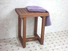 Shower Shaving Stool for Towel