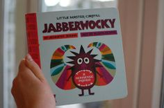 Jabberwocky Board Book Review Board Book, Fun Projects, Book Review, Books, Art, Bebe, Art Background, Libros, Book