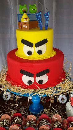 Festa Angry Birds www.tantafestanca.com.br