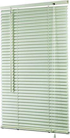 Homebasix Mvb 31x72 3l 31 By 72 Inch Vinyl Blinds Mini White Review Vinyl Blinds Blinds Vinyl Mini Blinds