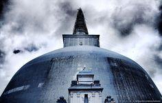 Mirisawetiya Stupa, Ancient city of Anuradhapura, Sri Lanka Buddhist Philosophy, Sri Lanka, Gate, Clouds, Explore, World, Travel, Viajes, Portal