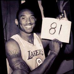 The legendary Kobe Bryant
