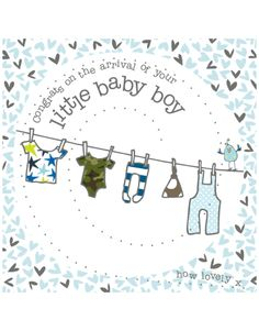 New Baby Boy Congratulations By Molly Mae | Baby Boy