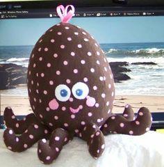 Sew Much 2 Luv Stuffed octopus