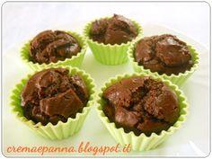 crema e panna: Muffin light ricotta e cioccolato